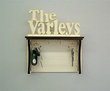 Your Names Personalised Wall Fixed Wooden Key Holder-Letter Rack Key Rack zk3