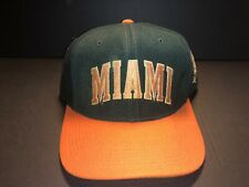 Miami Hurricanes Vintage Baseball Cap