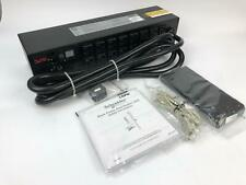NEW NIB APC AP7802B Metered 120V 2U Rackmount 30A PDU Power Strip