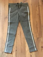 Grey Next Super Skinny Jeans Size 10R