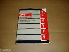 1992 Pontiac Bonneville SE service shop dealer repair manual