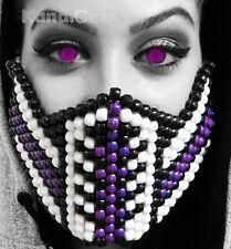 Mortal Kombat Purple Reptile Kandi Mask From KandiGear, Rave Gear and Costumes