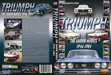 Triumph Saloon DVD 1300 2000 2500 Dolomite Herald Vitesse Renown Mayflower *NEW