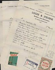 Clowes, 43 Cambridge Road, London. 1939 House Repairs  Locke & Stevens  (ZQ50)