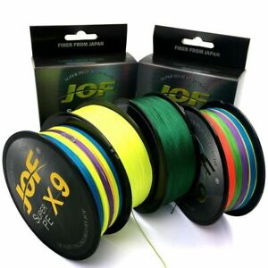Braided Fishing Line Weave 9 Threads Super Strong Spinning Saltwater Catch Pike