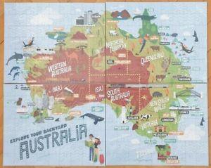 Explore Your Backyard Australia Jigsaw Puzzle 252pcs