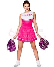 Ladies Cheerleader Costume School Girl Full Outfits Fancy Dress Uniform