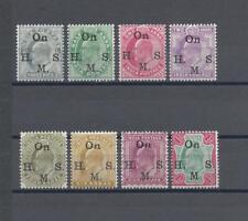 INDIA 1902-09 SG O54/65 MINT Cat £60