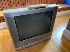 "Toshiba MW20FP3 Flat Screen CRT Retro Gaming TV VCR DVD Combo 20"" Good"