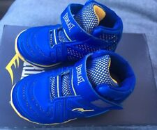 Everlast (Sears) Boy Sz 10M Sneakers Shoes Blue Yellow Cayenne 48841 New In Box