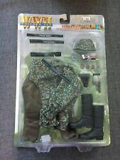 "2001 Dragon 1/6 Scale 12"" WWII German Elite Officer Camo Smock Set 3 71108"