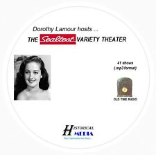 SEALTEST VARIETY THEATER - 41 Shows Old Time Radio In MP3 Format OTR On 1 CD
