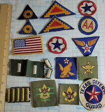 Vintage Collection Military & Other Cloth Patches