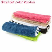 3x Dish Cloth Bamboo Fiber Washing Towel Magic Kitchen Cleaning Wiping Rags hot