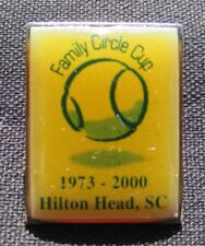 2000 Family Circle Cup Tennis Tournament Pin - Hilton Head, Sc