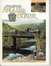 1999  Pennsylvania Angler Boater Magazine , Old PRR Train on Cover 60 pages /a2
