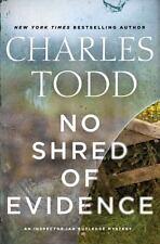 No Shred of Evidence: An Inspector Ian Rutledge Mystery [Inspector Ian Rutledge