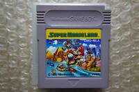 "Super Mario Land Cartridge Only ""Good Condition"" Nintendo Gameboy Japan"