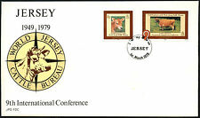 Jersey 1979 Cattle Int. Conference Fdc First Day Cover #C42328