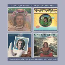 GARY WRIGHT - DREAM WEAVER/LIGHT OF SMILES/TOUCH & GONE/HEADIN H  2 CD NEW