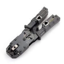RJ11 RJ12 RJ45 RJ9 6P DEC 8P 6P Network LAN Cable Crimper Cutter Pliers Tester
