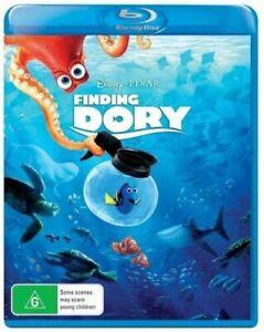 FINDING DORY (Disney Pixar) Blu Ray REGION B Brand New & Sealed in AUS!