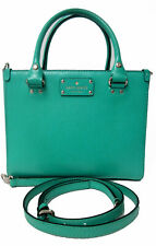 Kate Spade Wellesley Texture Leather Quinn Bag Purse Tote Geranium