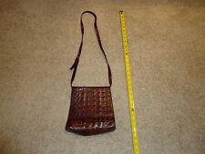 Neiman Marcus genuine crocodile/alligator Pattern Sholder Evening Purse handbag