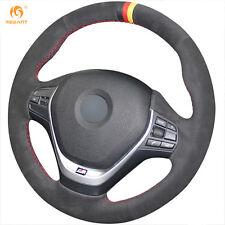 Suede Steering Wheel Cover for BMW F20 F45 F30 F31 F34 F32 F33 F36 2014-17 #BM49