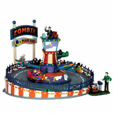 Lemax Spooky Town - Zombie Plane Ride - Carnival Ride - NEW