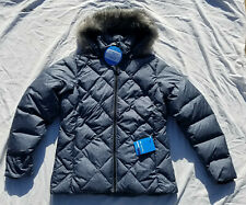 Columbia Icy Heights II Down Jacket Women's Winter Coat Puffy Puffer Grey NWT