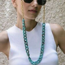 Acrylic Alloy Metal Eyeglasses Cord Chain Hanging Neck Lanyard For Men And Women