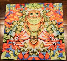 Unbranded Owl Printed Cushion Cover Fashion Design NEW 42 cm x 42 cm