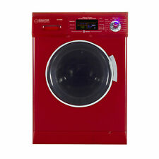 Equator Combination Ventless Home Washer Dryer Unit, Merlot Red (For Parts)