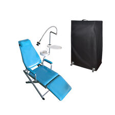 Dental Portable Standard Type Folding Chair With Plastic tray & Pull Rod lov