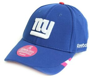New York Giants Hat Pink Ribbon Breast Cancer Awareness