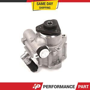 Power Steering Pump For 96-03 BMW 530i 525i 3.0L 2.8L 2.5L E39 M52 M54 DOHC