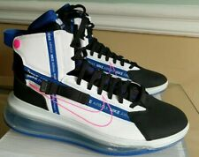 Nike Air Max 720 Saturn Mens 8M White Pink Blast Black A02110-101
