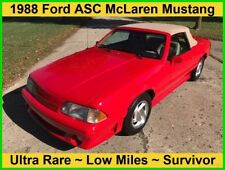 1988 Ford Mustang ASC McLaren 5.0 Liter