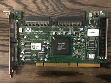 Dell 0R5601 ADAPTEC 39160 Dual Channel U160 SCSI Controller Card VZ