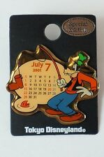 f39014094b0 Tokyo Disney Resort Pin 2001 Calendar Series July Goofy TDR