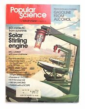 Popular Science June 1978 Gasoline From Alcohol Solar Stirling Engine '79 Cars