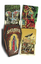 Hard to find Limited Edition Santa Muerte Tarot  Coffin Shaped Box