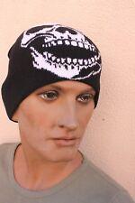 Bonnet tête de Mort - Taille unique - 100 % Acrylique  ( Mixte-Homme/Femme)