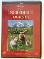 The Incredible Journey (DVD, 2015) Disney Classic  (NEW)