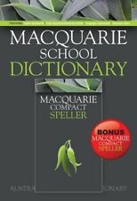 Macquarie School Dictionary (Paperback) + Bonus Compact Speller by Macquarie...