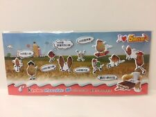 Kinder Surprise Sporty Animals Sticker Sheet Limited Edition China 2017 Rare