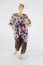Lockre Sitzende Übergröße Damenblusen,-Tops & -Shirts mit Polyester ohne Mehrstückpackung