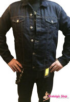 Running Bear Jeansjacke - Raw Denim -50er  Rockabilly Biker Country Style- Denim