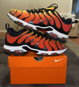 Nike Air Max Plus TN Ultra Tiger 8 Black Team Orange 898015-004 Tailwind 1 2 3 4